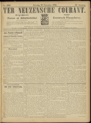 Ter Neuzensche Courant. Algemeen Nieuws- en Advertentieblad voor Zeeuwsch-Vlaanderen / Neuzensche Courant ... (idem) / (Algemeen) nieuws en advertentieblad voor Zeeuwsch-Vlaanderen 1895-09-28