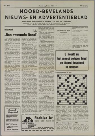Noord-Bevelands Nieuws- en advertentieblad 1981-06-11
