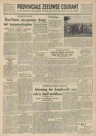 Provinciale Zeeuwse Courant 1952-05-13