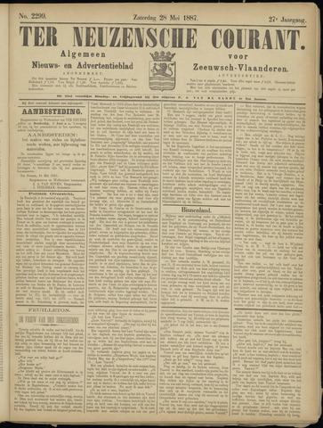 Ter Neuzensche Courant. Algemeen Nieuws- en Advertentieblad voor Zeeuwsch-Vlaanderen / Neuzensche Courant ... (idem) / (Algemeen) nieuws en advertentieblad voor Zeeuwsch-Vlaanderen 1887-05-28