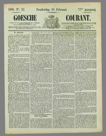 Goessche Courant 1890-02-20