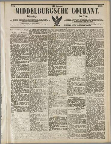 Middelburgsche Courant 1903-06-30