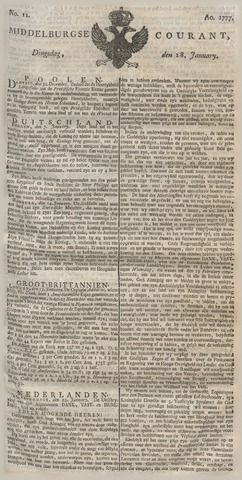 Middelburgsche Courant 1777-01-28