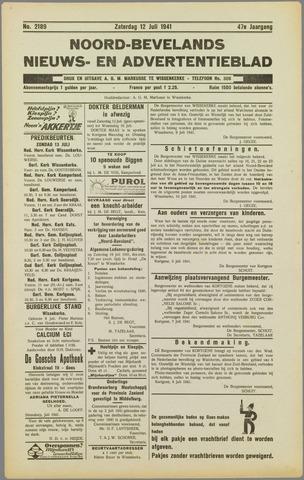 Noord-Bevelands Nieuws- en advertentieblad 1941-07-12