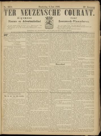 Ter Neuzensche Courant. Algemeen Nieuws- en Advertentieblad voor Zeeuwsch-Vlaanderen / Neuzensche Courant ... (idem) / (Algemeen) nieuws en advertentieblad voor Zeeuwsch-Vlaanderen 1896-06-04