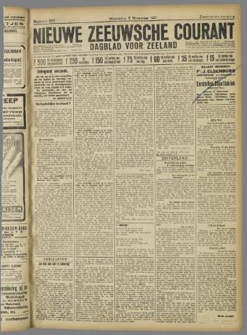 Nieuwe Zeeuwsche Courant 1921-11-09