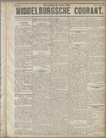 Middelburgsche Courant 1922-03-08