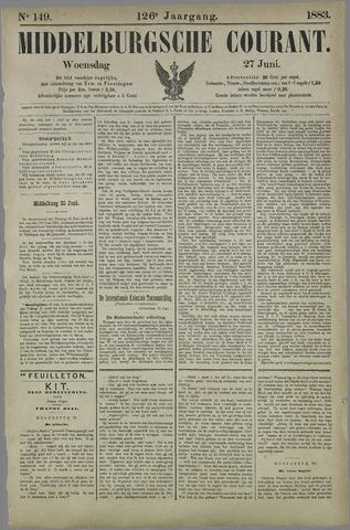 Middelburgsche Courant 1883-06-27