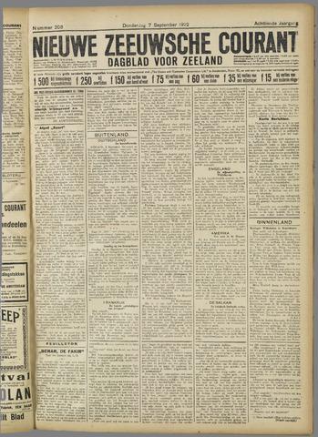 Nieuwe Zeeuwsche Courant 1922-09-07