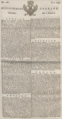 Middelburgsche Courant 1771-09-07