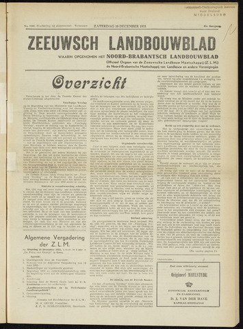 Zeeuwsch landbouwblad ... ZLM land- en tuinbouwblad 1955-12-10