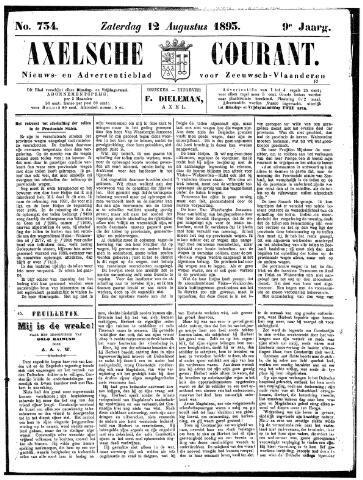 Axelsche Courant 1893-08-12