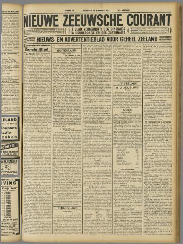 Nieuwe Zeeuwsche Courant 1927-11-12