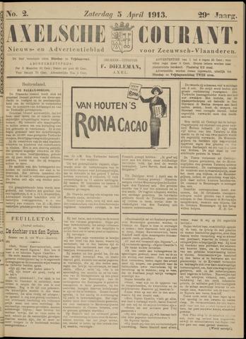 Axelsche Courant 1913-04-05