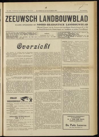 Zeeuwsch landbouwblad ... ZLM land- en tuinbouwblad 1952-10-25