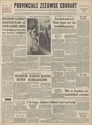 Provinciale Zeeuwse Courant 1962-10-27