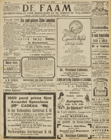 de Faam en de Faam/de Vlissinger 1923-11-21