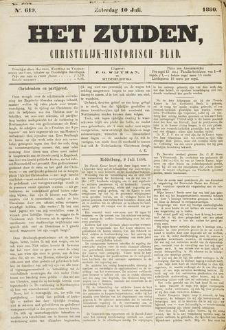 Het Zuiden, Christelijk-historisch blad 1880-07-10