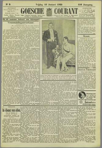 Goessche Courant 1929-01-18