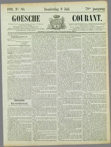 Goessche Courant 1891-07-09