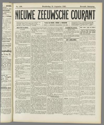 Nieuwe Zeeuwsche Courant 1911-08-24