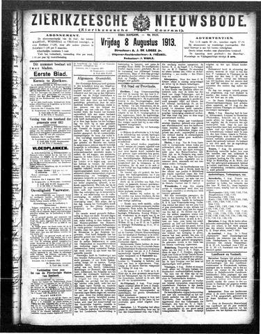 Zierikzeesche Nieuwsbode 1913-08-08