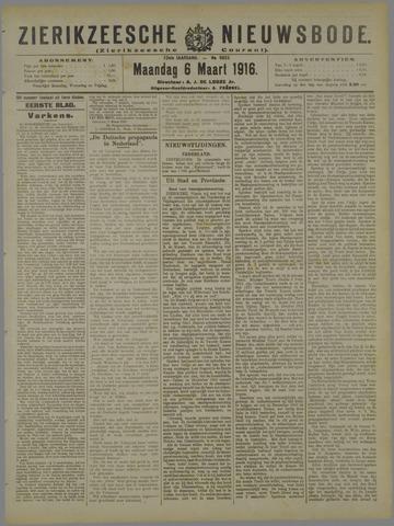 Zierikzeesche Nieuwsbode 1916-03-06