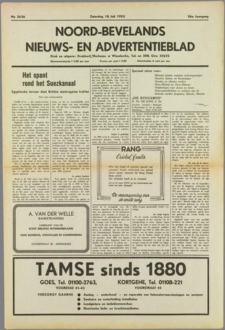 Noord-Bevelands Nieuws- en advertentieblad 1953-07-18
