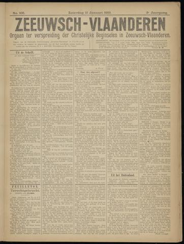 Luctor et Emergo. Antirevolutionair nieuws- en advertentieblad voor Zeeland / Zeeuwsch-Vlaanderen. Orgaan ter verspreiding van de christelijke beginselen in Zeeuwsch-Vlaanderen 1919-01-11