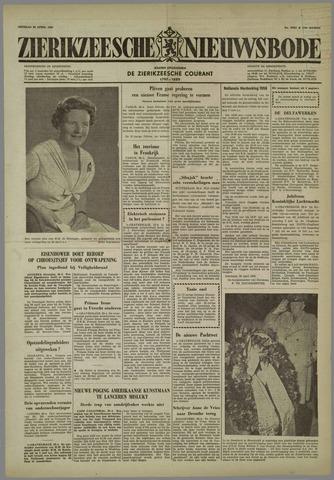 Zierikzeesche Nieuwsbode 1958-04-29