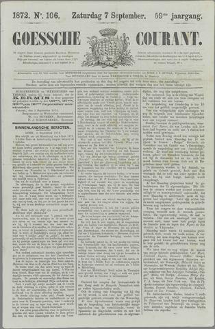 Goessche Courant 1872-09-07
