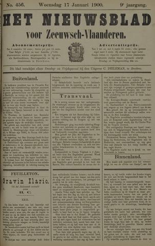 Nieuwsblad voor Zeeuwsch-Vlaanderen 1900-01-17
