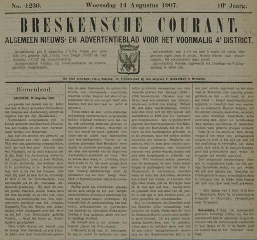 Breskensche Courant 1907-08-14