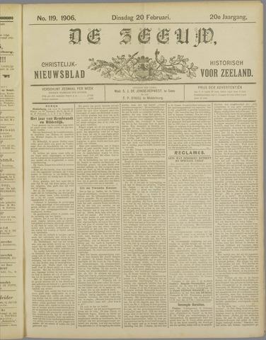 De Zeeuw. Christelijk-historisch nieuwsblad voor Zeeland 1906-02-20