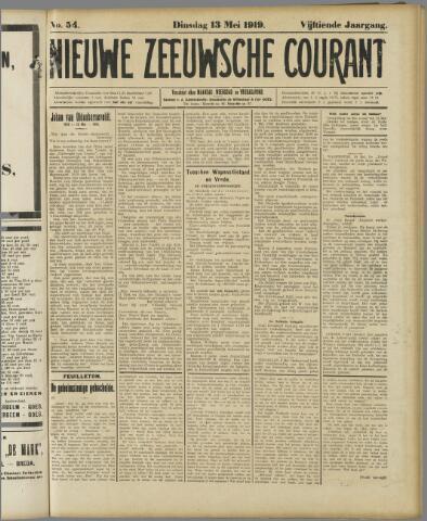 Nieuwe Zeeuwsche Courant 1919-05-13