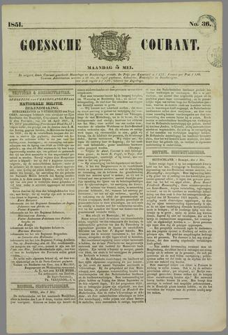 Goessche Courant 1851-05-05