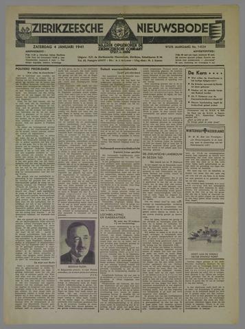 Zierikzeesche Nieuwsbode 1941-01-04