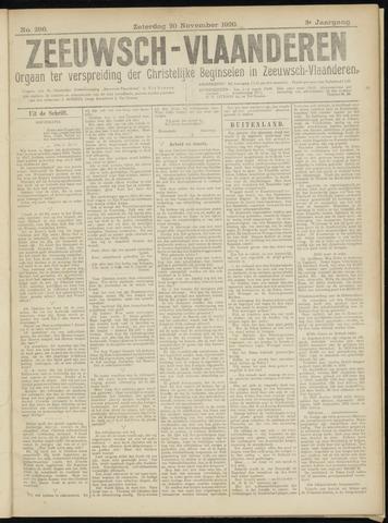 Luctor et Emergo. Antirevolutionair nieuws- en advertentieblad voor Zeeland / Zeeuwsch-Vlaanderen. Orgaan ter verspreiding van de christelijke beginselen in Zeeuwsch-Vlaanderen 1920-11-20
