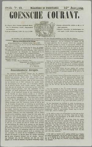 Goessche Courant 1865-02-13