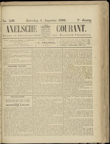 Axelsche Courant 1891-08-08