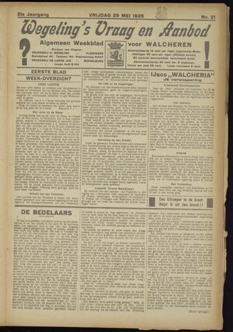 Zeeuwsch Nieuwsblad/Wegeling's Nieuwsblad 1925-05-29