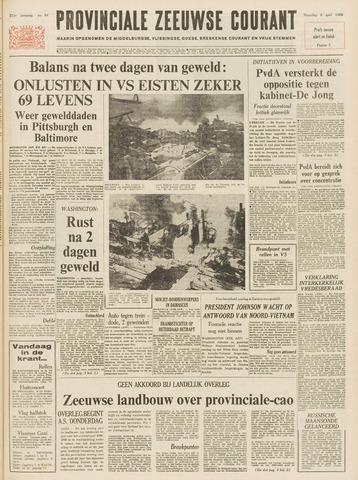 Provinciale Zeeuwse Courant 1968-04-08