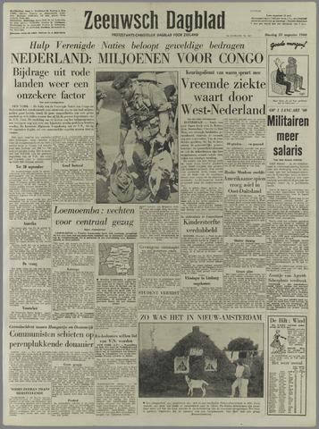Zeeuwsch Dagblad 1960-08-23
