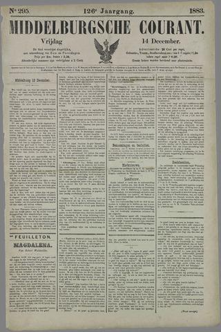 Middelburgsche Courant 1883-12-14