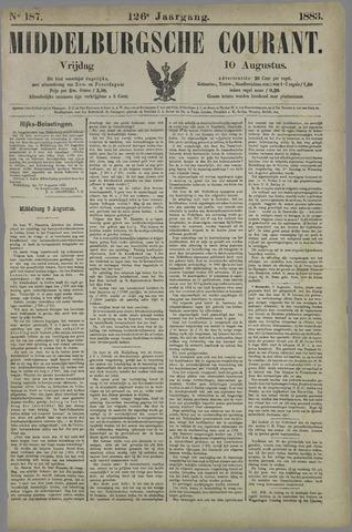 Middelburgsche Courant 1883-08-10