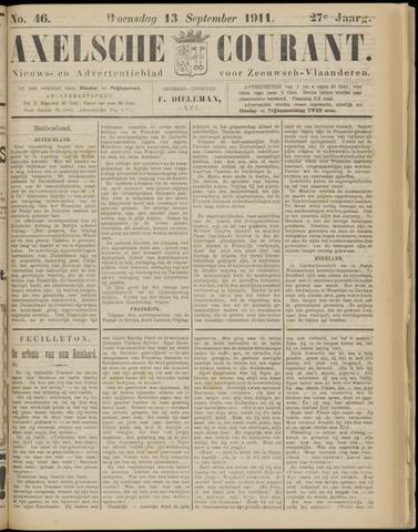 Axelsche Courant 1911-09-13