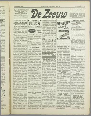 De Zeeuw. Christelijk-historisch nieuwsblad voor Zeeland 1937-07-03