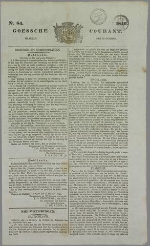 Goessche Courant 1840-10-19