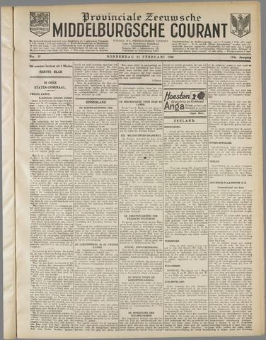 Middelburgsche Courant 1930-02-13