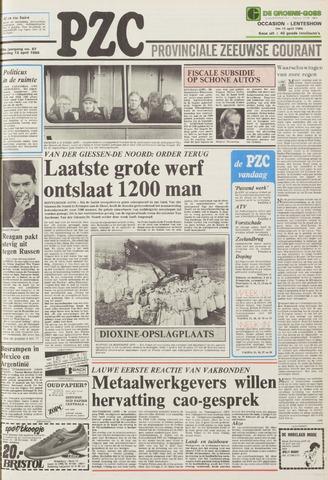 Provinciale Zeeuwse Courant 1985-04-13